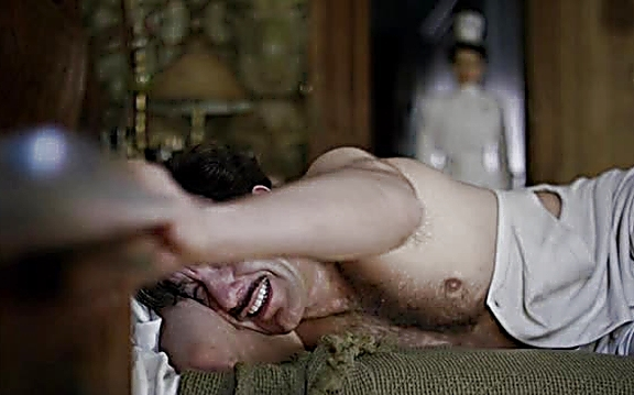 Clive Owen sexy shirtless scene August 10, 2014, 10pm