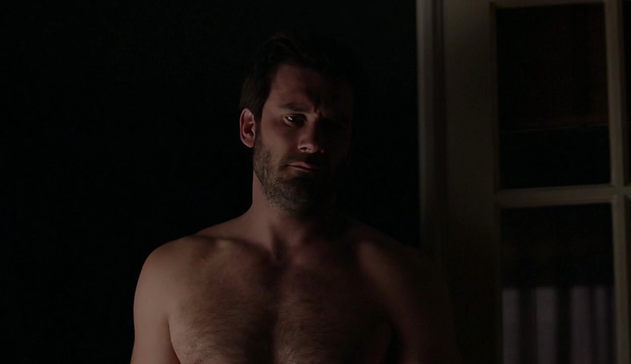 Clive Standen sexy shirtless scene March 28, 2017, 1pm