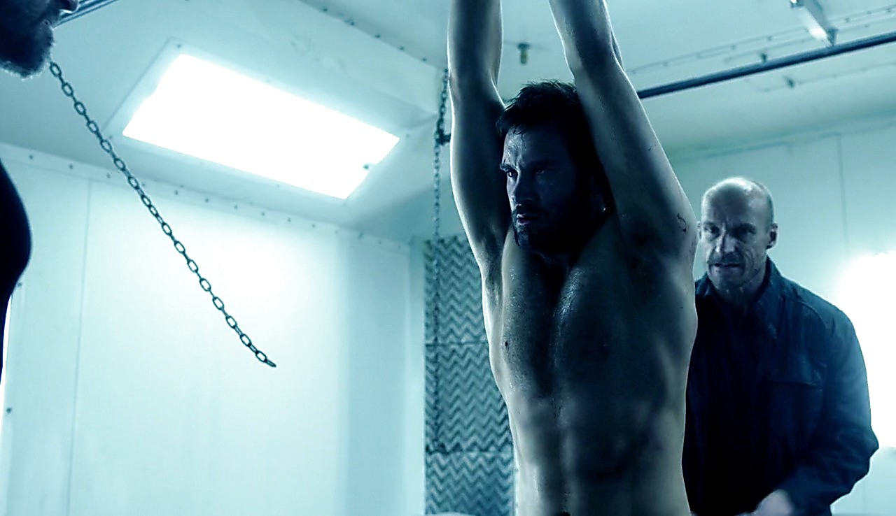 Clive Standen sexy shirtless scene April 11, 2017, 1pm