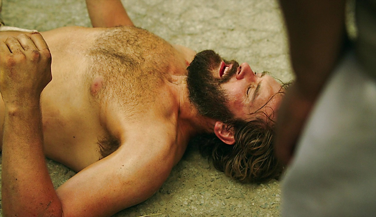 Clive Standen sexy shirtless scene January 13, 2018, 1pm