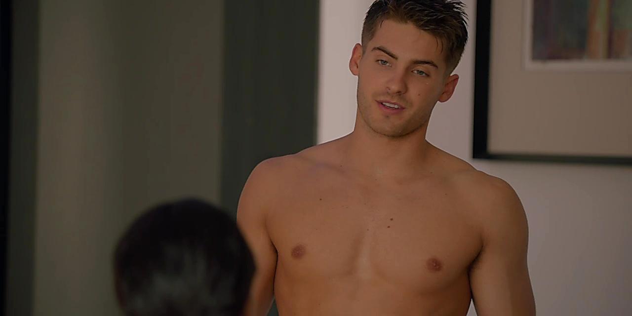 Cody Christian sexy shirtless scene November 15, 2018, 11am