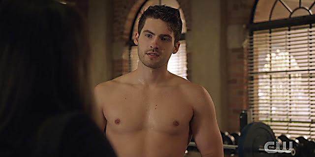 Cody Christian sexy shirtless scene January 26, 2021, 1pm