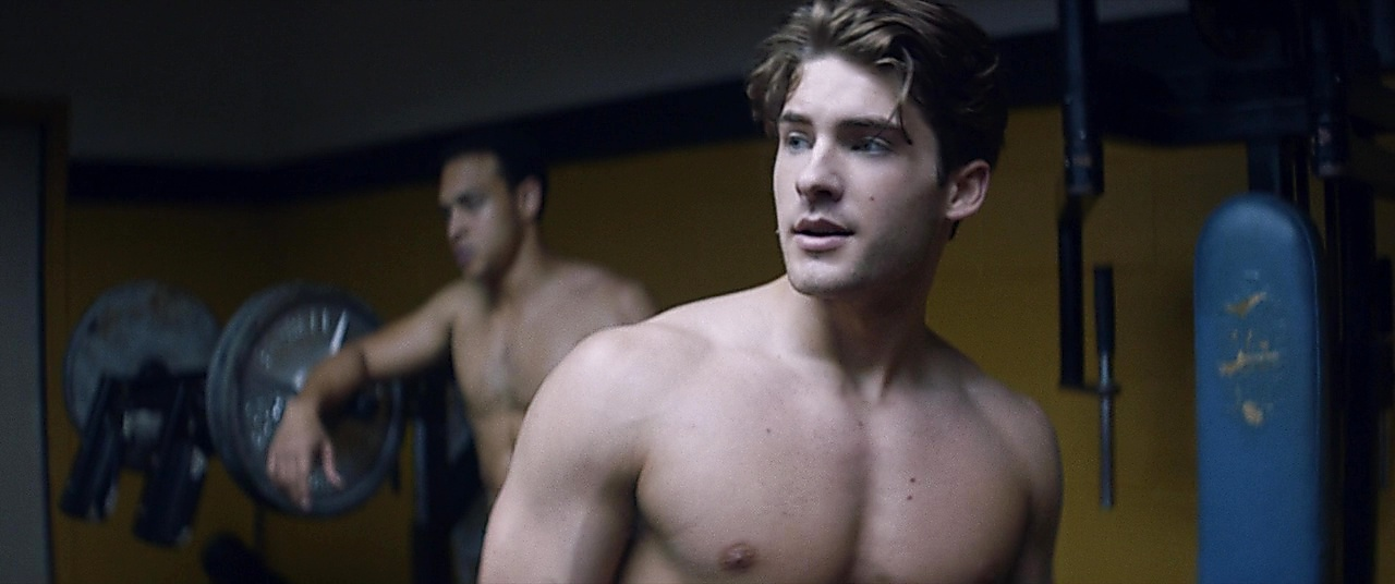 Cody Christian sexy shirtless scene December 8, 2018, 2pm