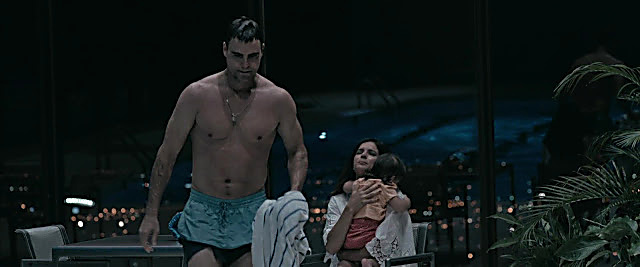 Colin Egglesfield sexy shirtless scene February 2, 2021, 1pm