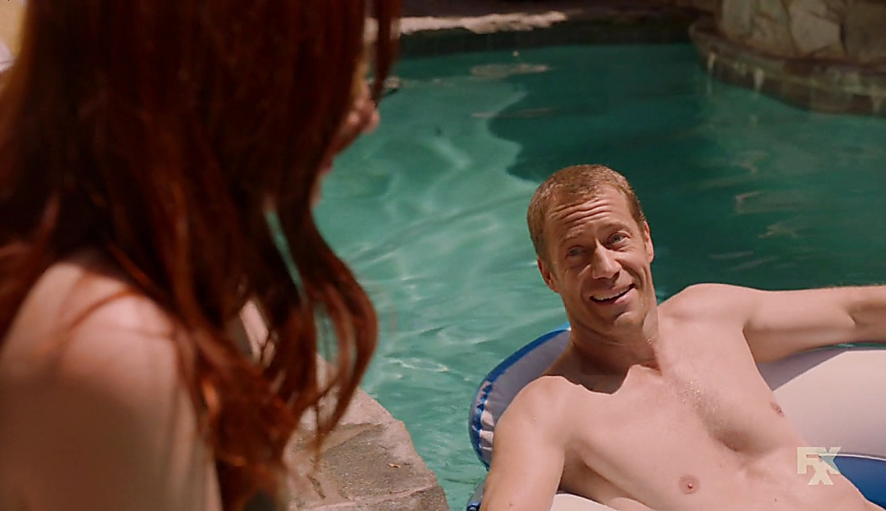 Colin Ferguson latest sexy shirtless scene November 2, 2017, 1pm