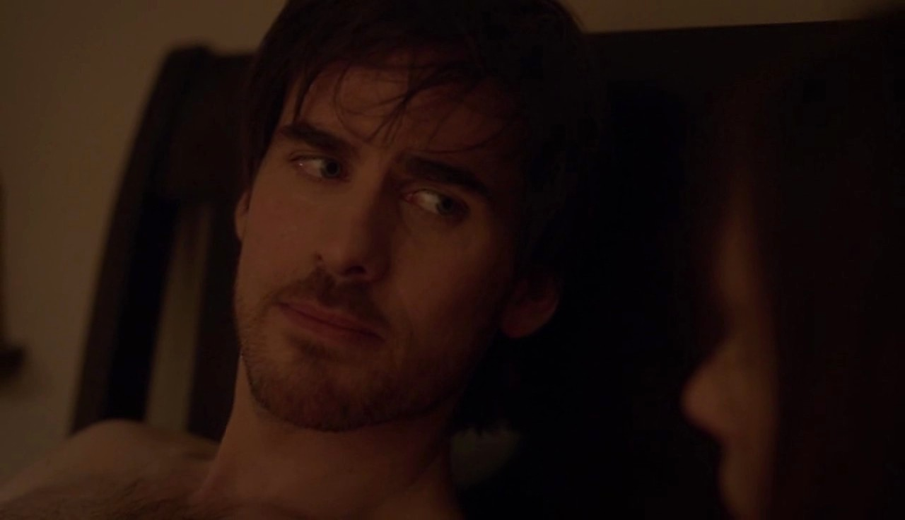 Colin O Donoghue sexy shirtless scene April 4, 2017, 1pm