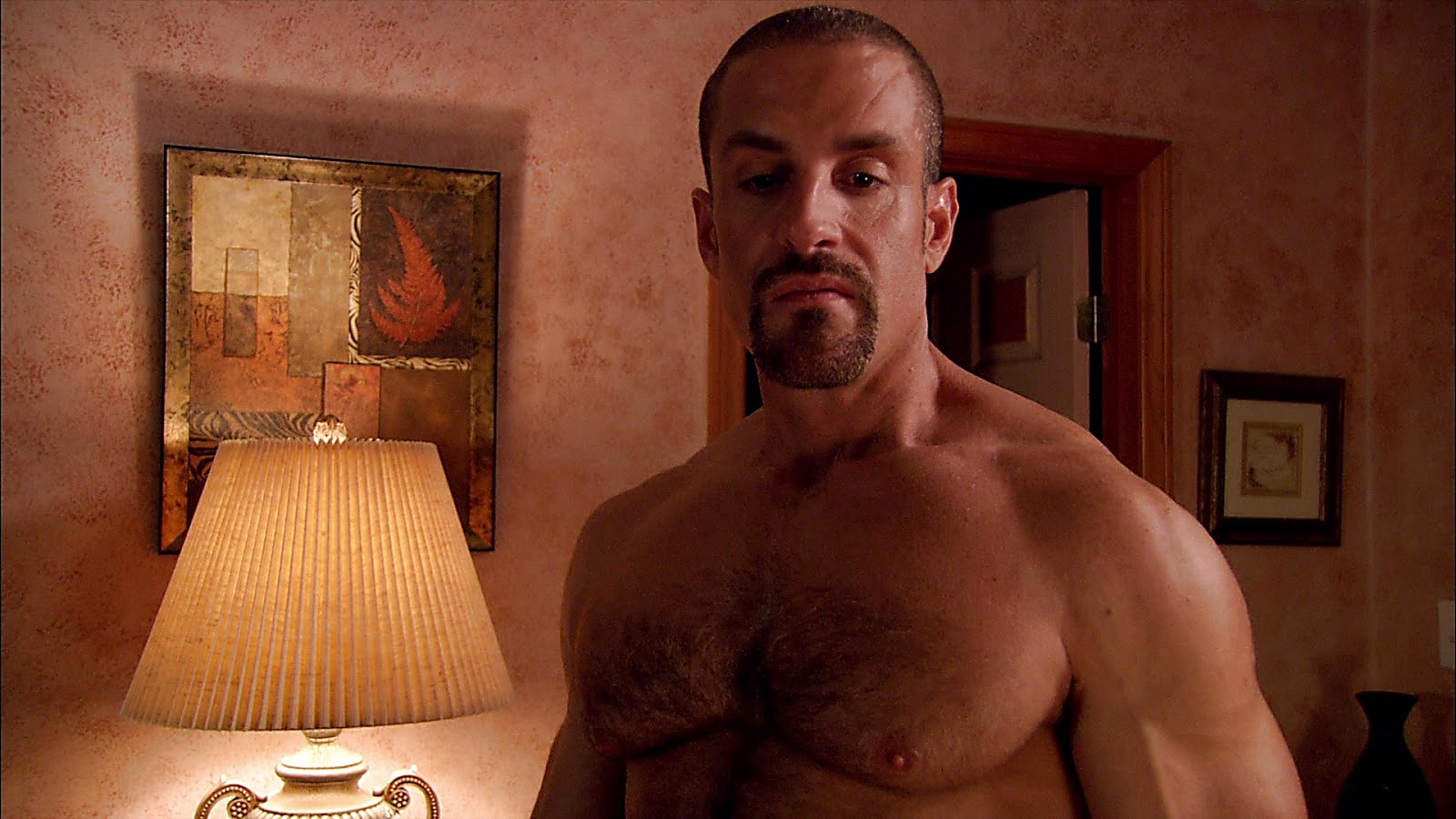 Colton Ford sexy shirtless scene November 15, 2019, 11am