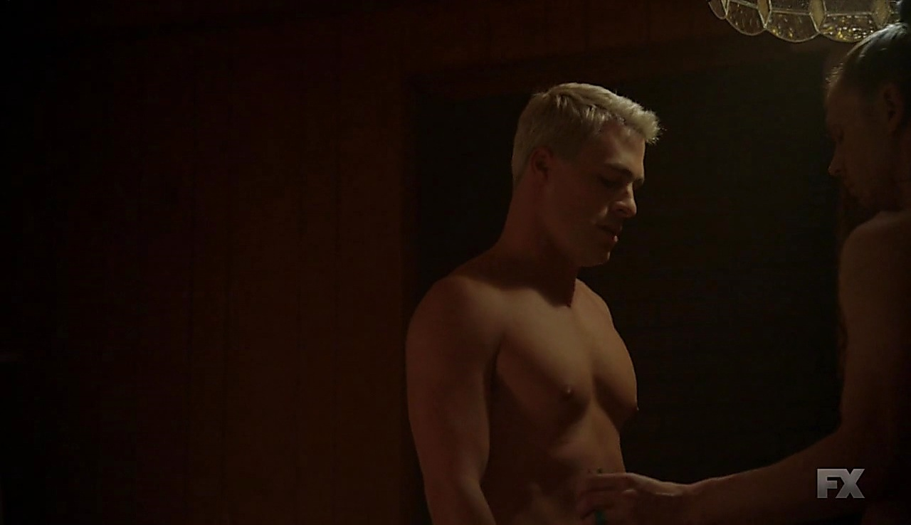 Colton Haynes sexy shirtless scene October 25, 2017, 3am