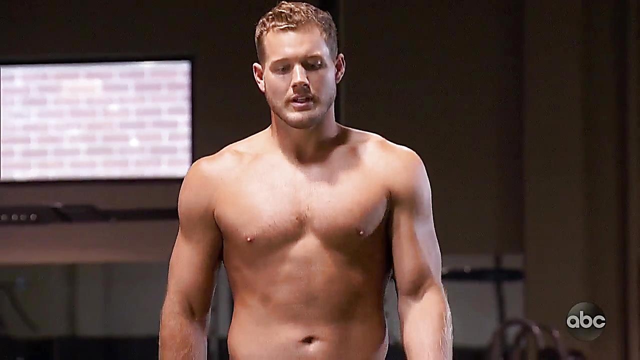 Colton Underwood sexy shirtless scene January 24, 2019, 1pm