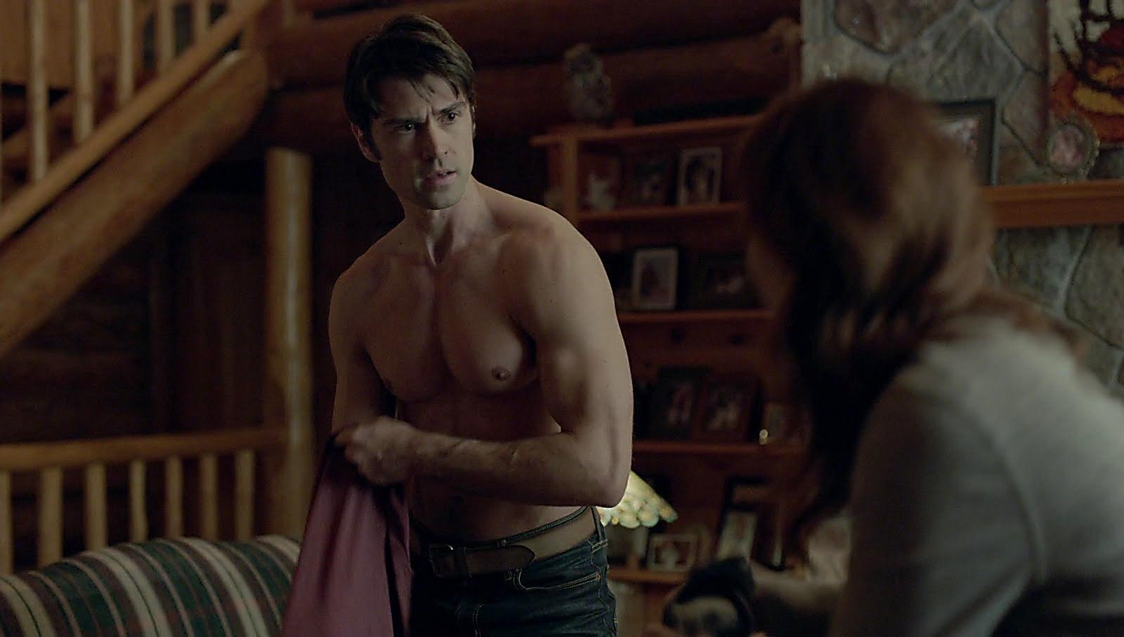 Corey Sevier sexy shirtless scene July 7, 2018, 11am