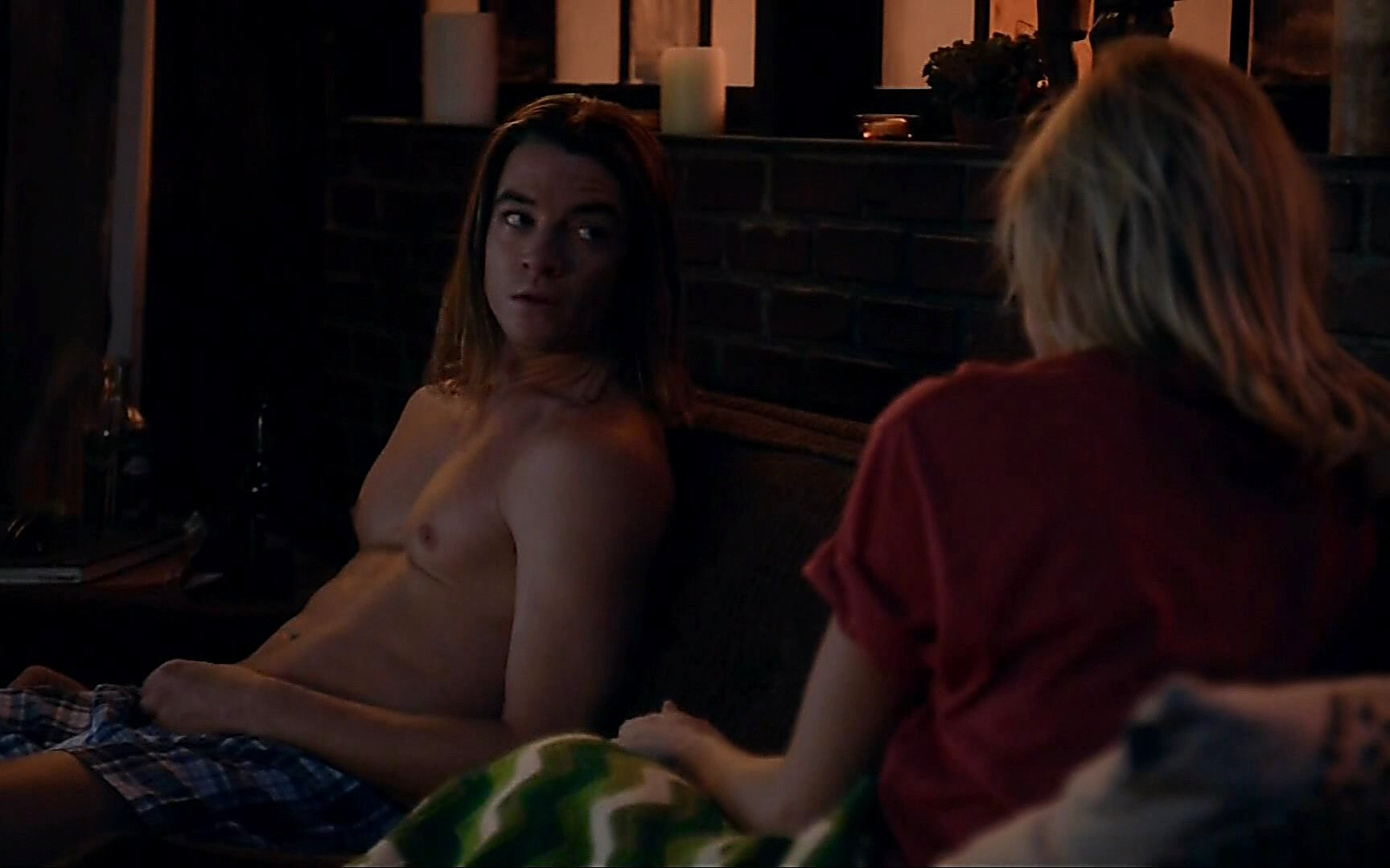 Craig Horner sexy shirtless scene February 22, 2015, 7pm
