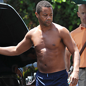 Cuba Gooding latest sexy shirtless May 21, 2015, 1pm