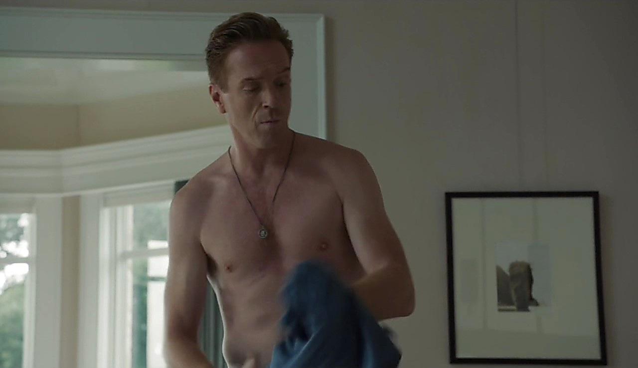 Damian Lewis sexy shirtless scene March 13, 2017, 4pm