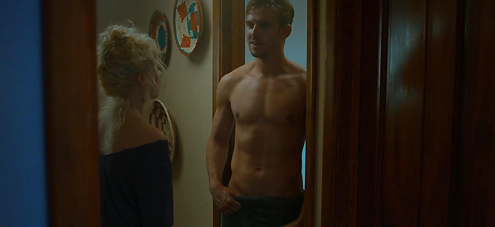 Dan Stevens sexy shirtless scene January 13, 2015, 12am