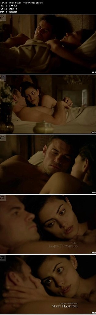 Daniel Gillies sexy shirtless scene June 28, 2016, 8pm