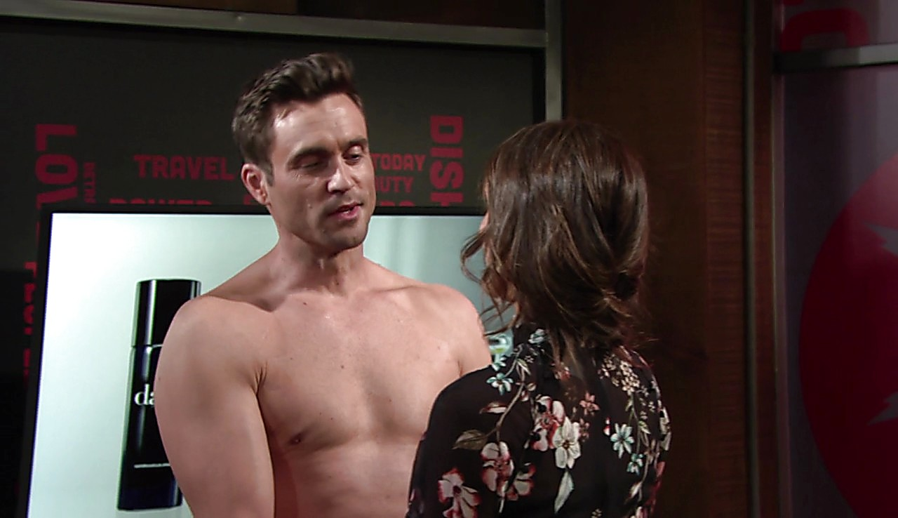 Daniel Goddard sexy shirtless scene February 23, 2017, 2pm
