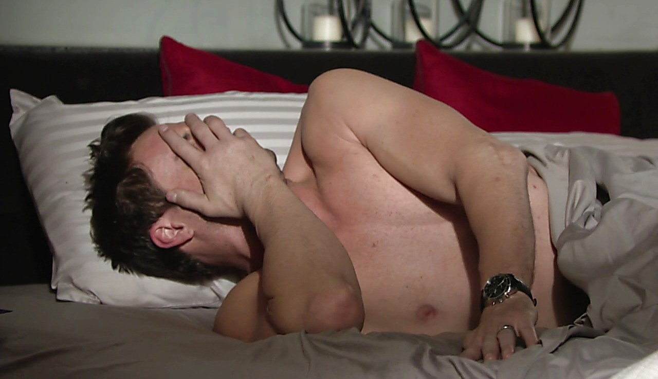 Daniel Goddard sexy shirtless scene March 15, 2017, 2pm
