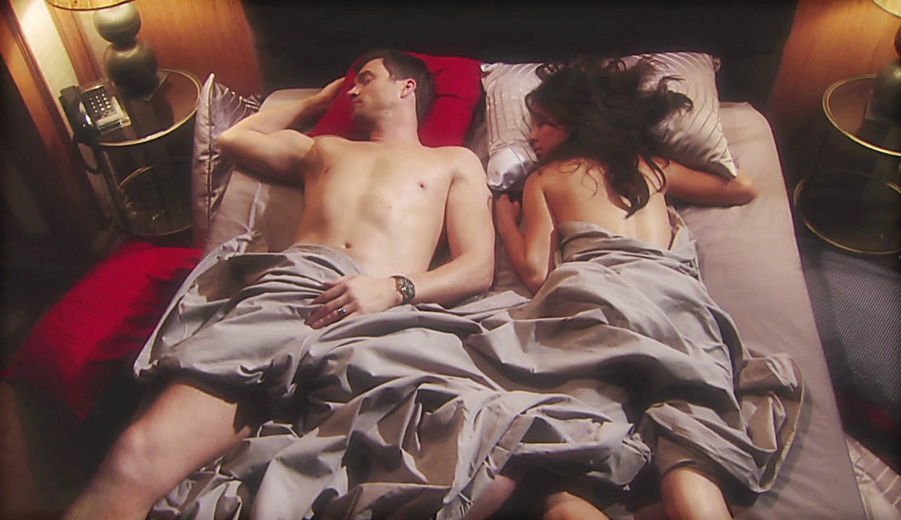 Daniel Goddard sexy shirtless scene April 1, 2017, 1pm