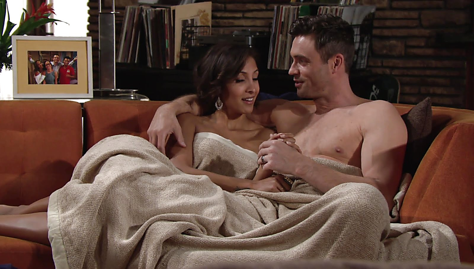 Daniel Goddard sexy shirtless scene March 15, 2018, 12pm
