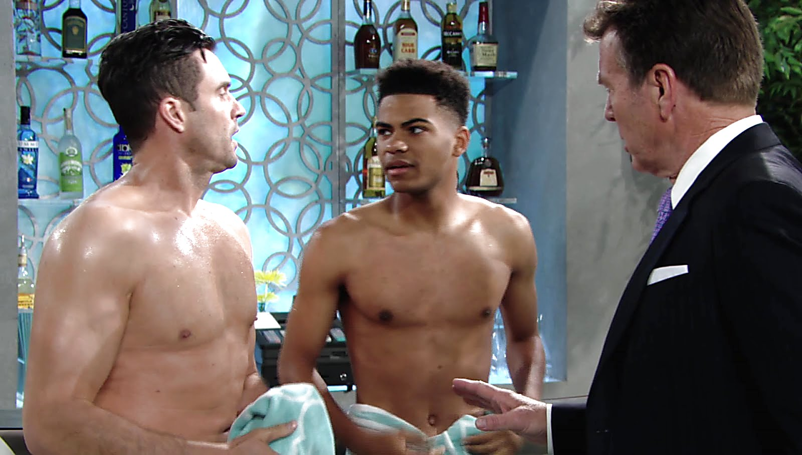 Daniel Goddard sexy shirtless scene June 22, 2018, 11am