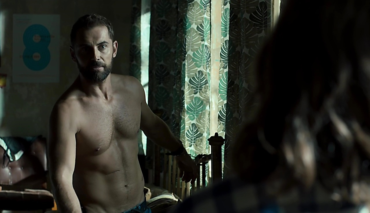 Daniel Macpherson sexy shirtless scene February 8, 2018, 11am