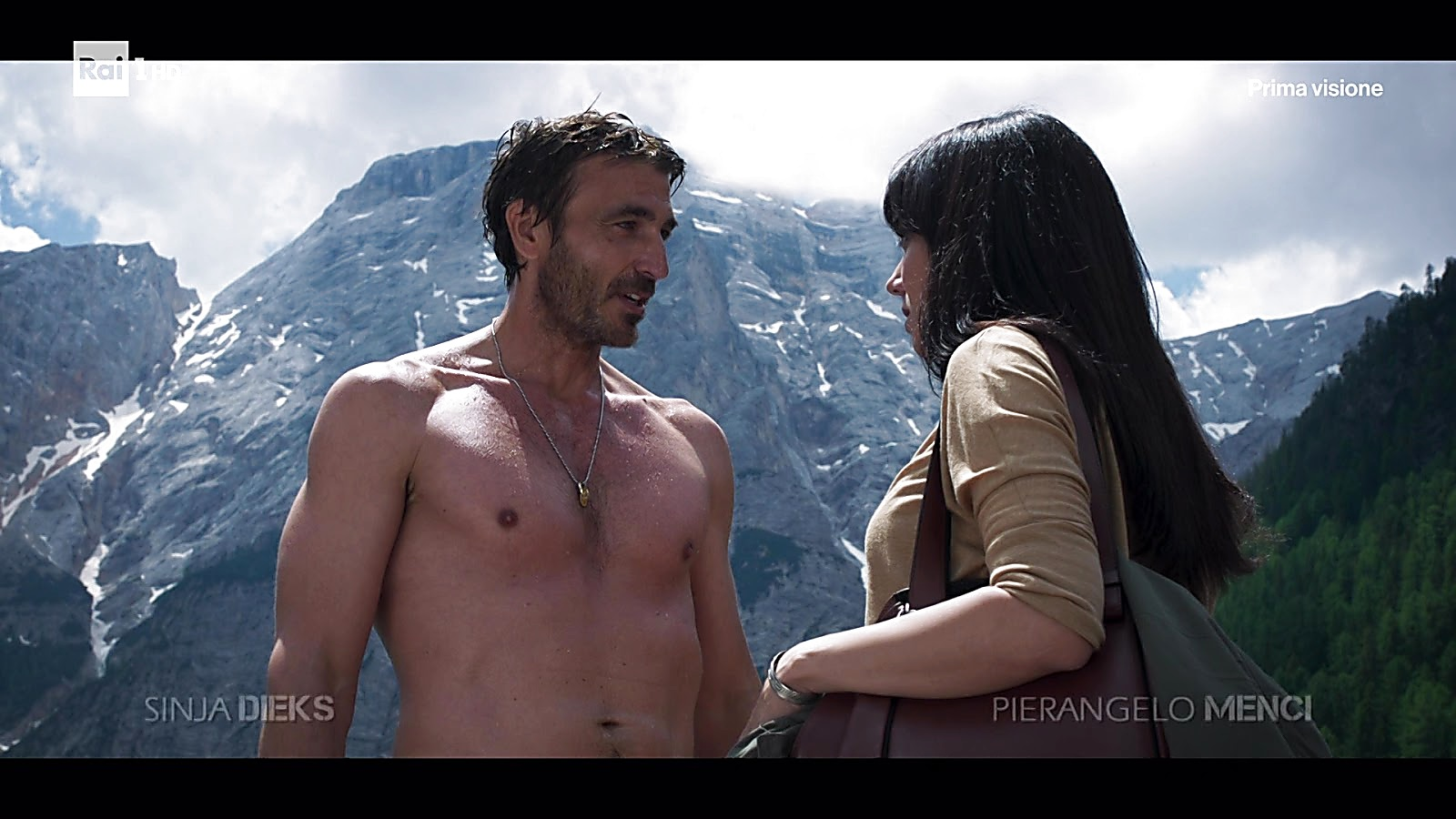 Daniele Liotti sexy shirtless scene September 14, 2019, 12pm