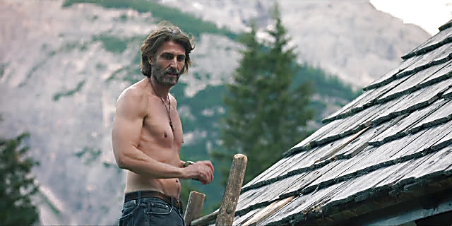 Daniele Liotti sexy shirtless scene April 25, 2021, 12pm