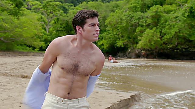 Danilo Carrera sexy shirtless scene October 13, 2021, 6am