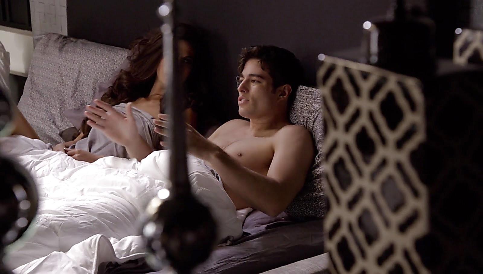Danilo Carrera sexy shirtless scene August 22, 2017, 11am