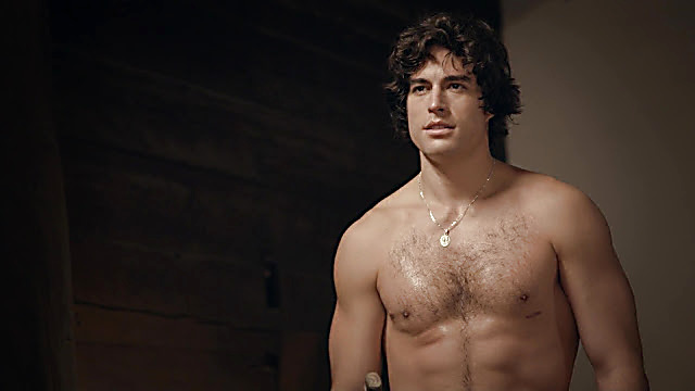 Danilo Carrera sexy shirtless scene January 13, 2021, 6am