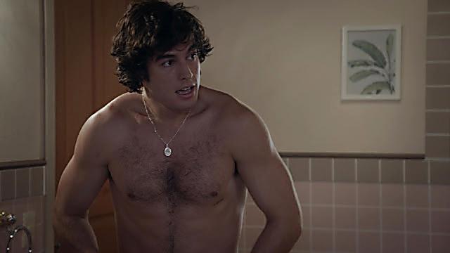 Danilo Carrera sexy shirtless scene January 21, 2021, 6am