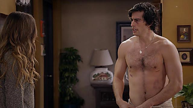 Danilo Carrera sexy shirtless scene January 28, 2021, 5am