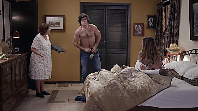 Danilo Carrera sexy shirtless scene February 13, 2021, 1pm