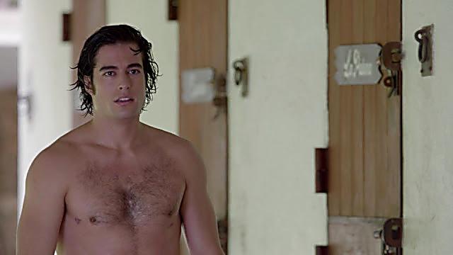 Danilo Carrera sexy shirtless scene February 16, 2021, 1pm