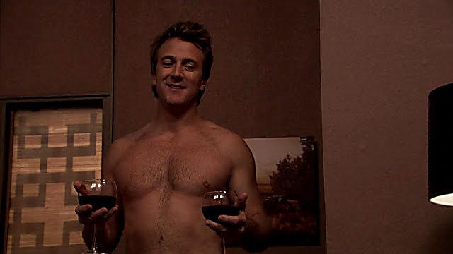 Danny Comden sexy shirtless scene June 11, 2021, 7am