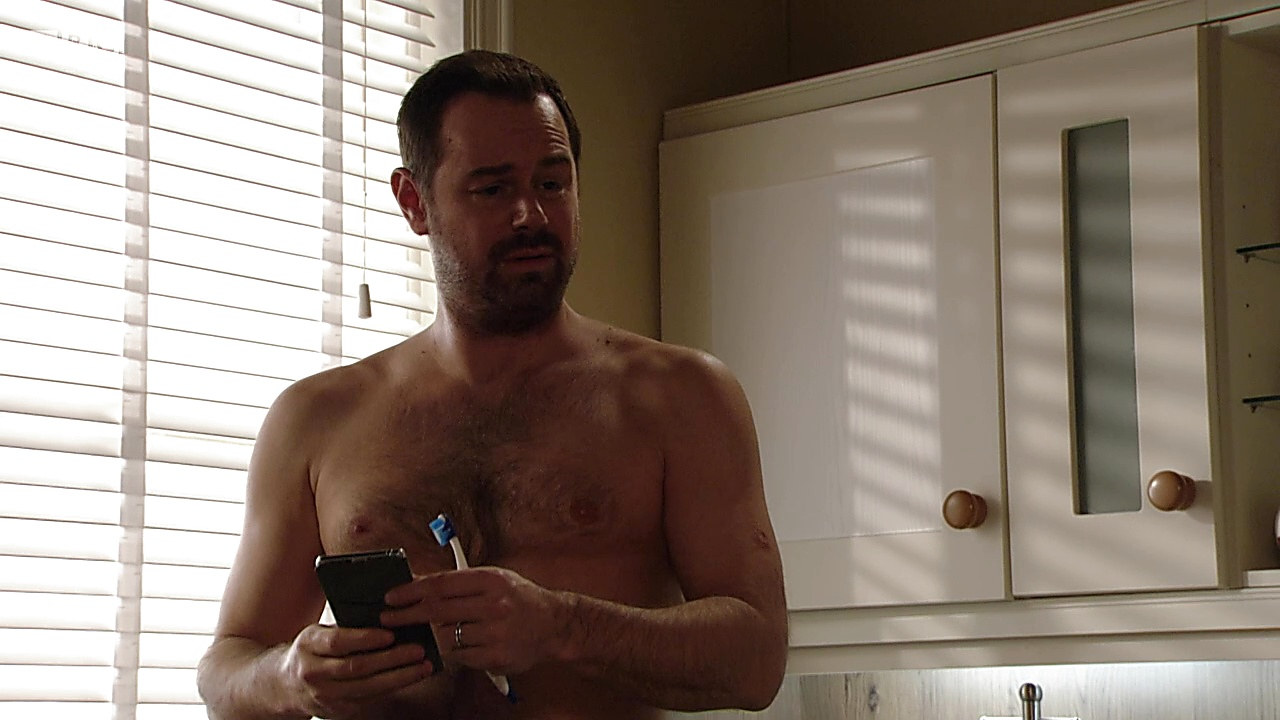 Danny Dyer sexy shirtless scene February 6, 2019, 11am