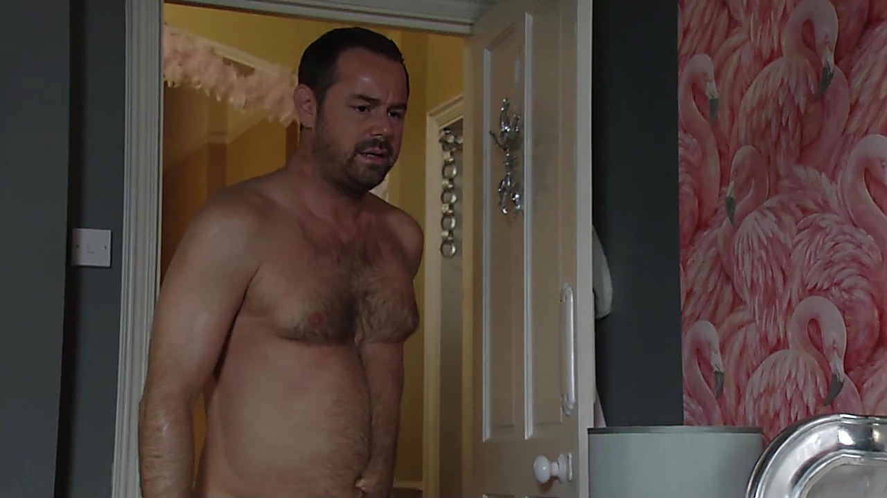 Danny Dyer sexy shirtless scene January 2, 2019, 12pm