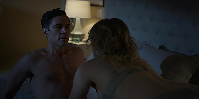 Danny Pino sexy shirtless scene March 27, 2021, 7am