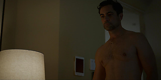 Danny Pino sexy shirtless scene April 28, 2021, 6am