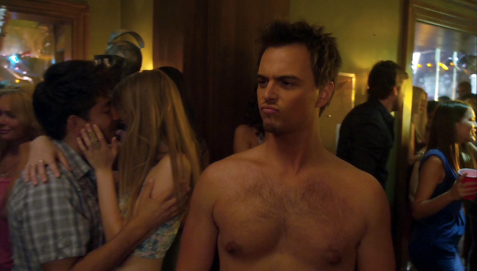 Darin Brooks sexy shirtless scene February 28, 2018, 11am