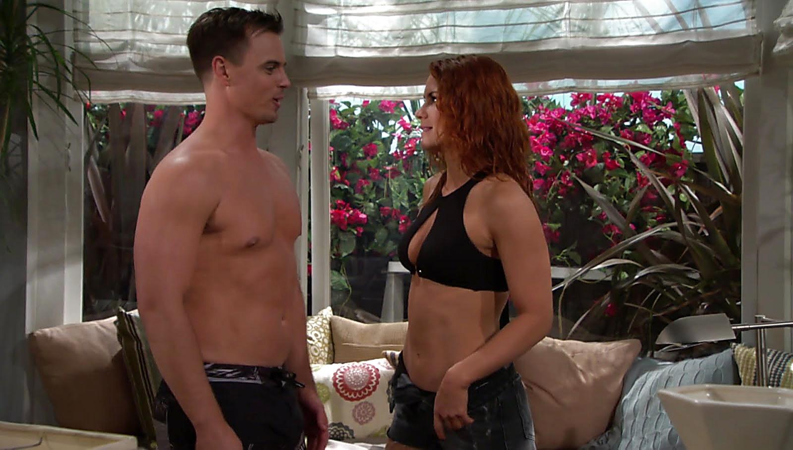 Darin Brooks sexy shirtless scene July 11, 2018, 2pm