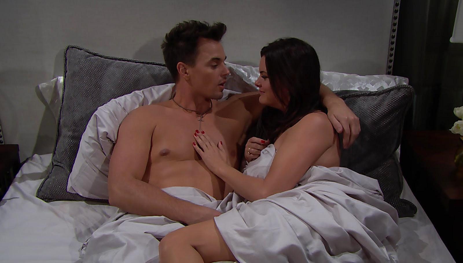 Darin Brooks sexy shirtless scene January 17, 2018, 1pm