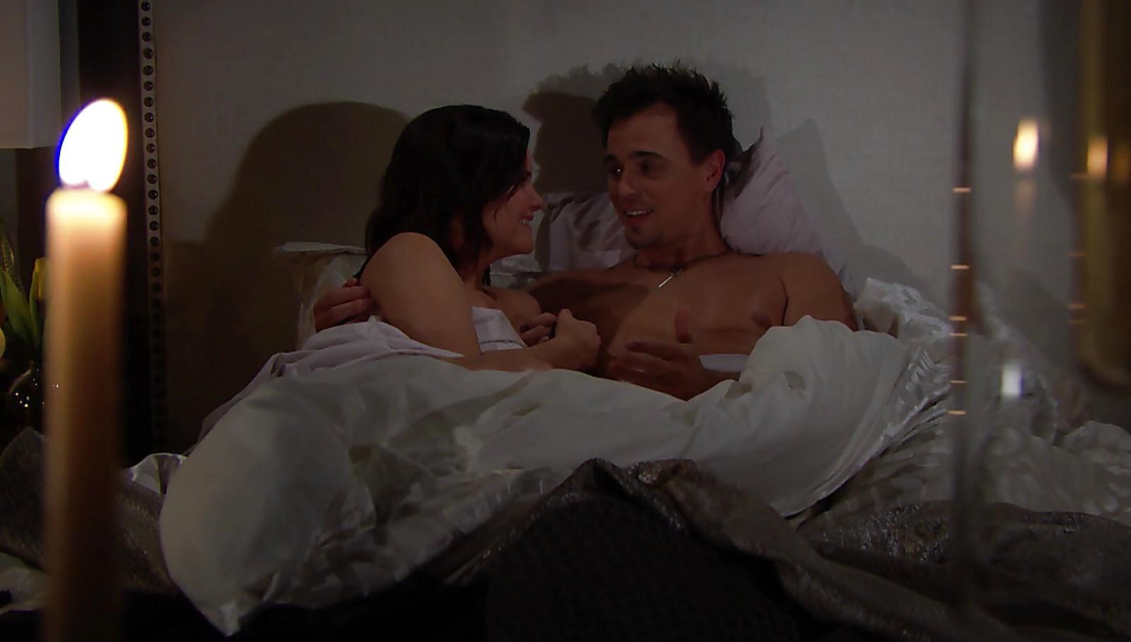 Darin Brooks sexy shirtless scene February 27, 2018, 1pm