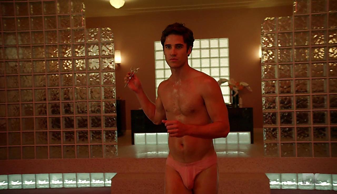 Darren Criss sexy shirtless scene January 25, 2018, 1pm