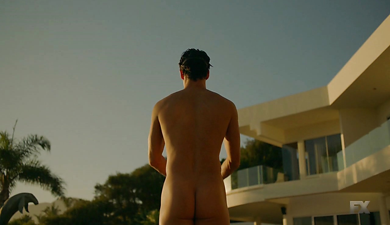 Darren Criss sexy shirtless scene March 1, 2018, 6am