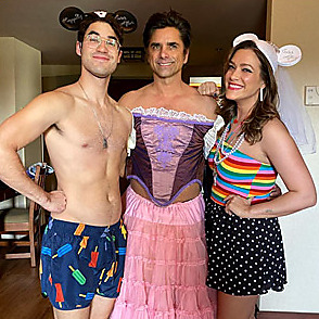 Darren Criss latest sexy shirtless February 3, 2020, 11pm