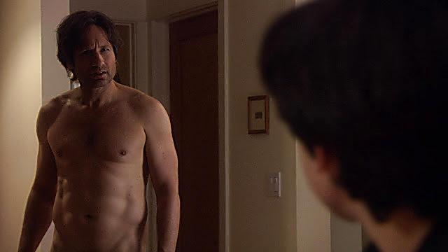 David Duchovny sexy shirtless scene November 29, 2020, 12pm