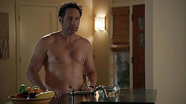 David Duchovny sexy shirtless scene November 29, 2020, 11am