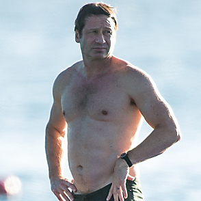 David Duchovny latest sexy shirtless December 27, 2018, 5am