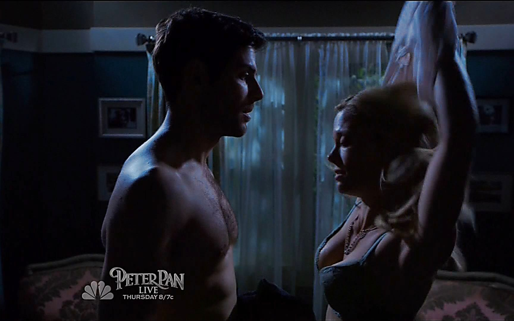 David Giuntoli sexy shirtless scene January 2, 2015, 10pm
